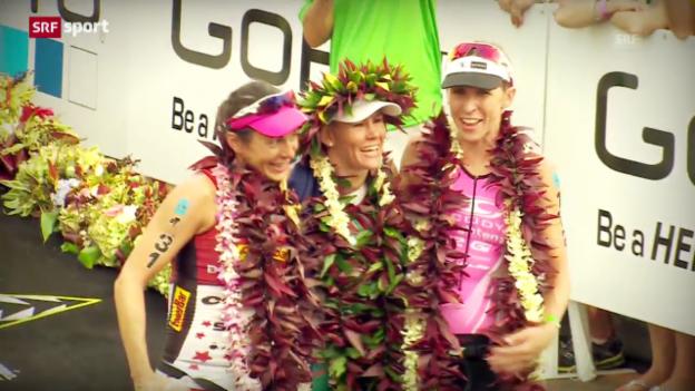 Video «Mirinda Carfrae gewinnt Ironman in Rekordzeit («sportpanorama»)» abspielen