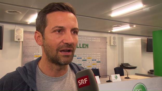 Video «Joe Zinnbauer: «Ich habe meinen Unmut dem Team kundgetan»» abspielen
