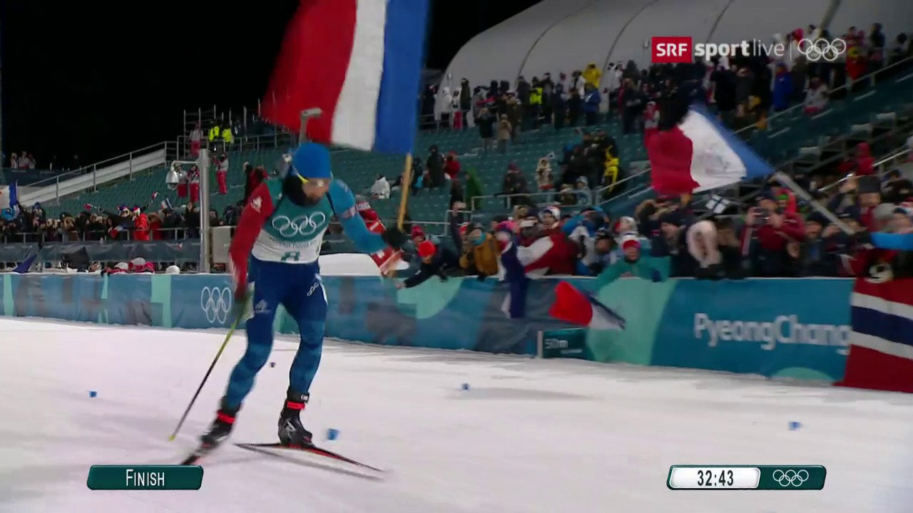 Fourcade holt in der Verfolgung Gold