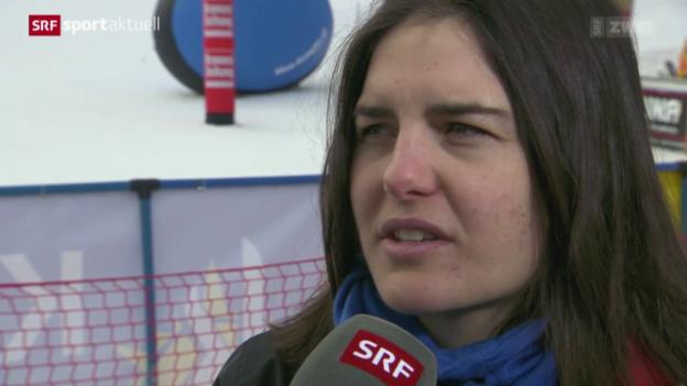 Video «Slopestyle: Der Final der Snowboarder» abspielen