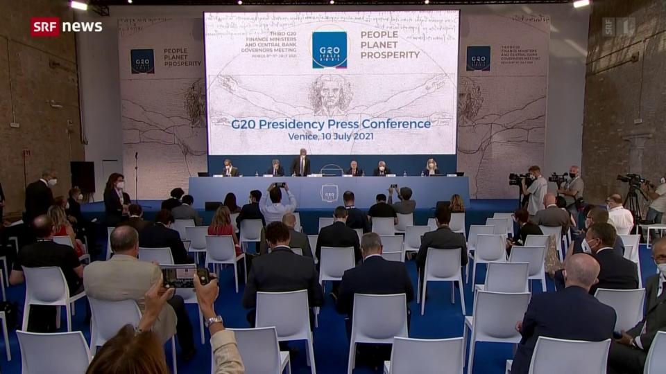 G20 einigen sich auf globale Steuerreform für Konzerne
