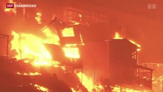 Video «Flammeninferno in Valparaíso » abspielen