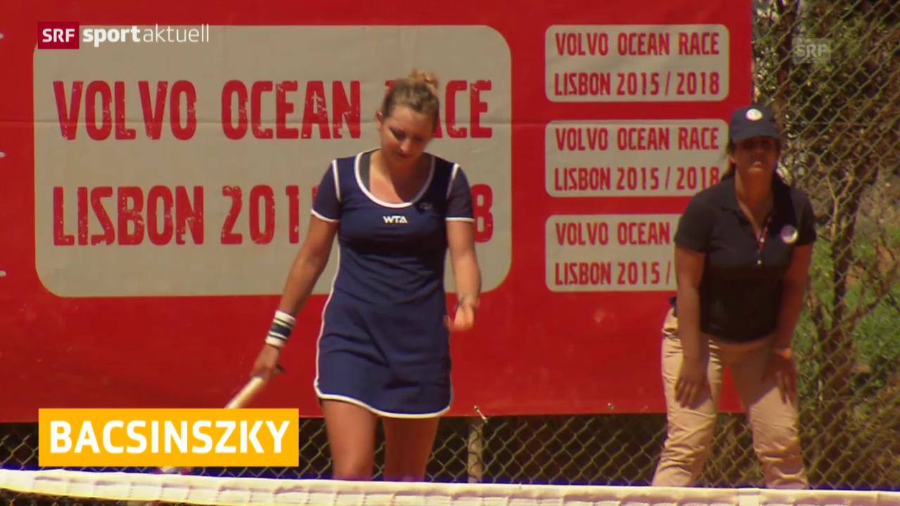 Tennis: Timea Bacsinszky in Estoril im Viertelfinal ausgeschieden («sportaktuell»)