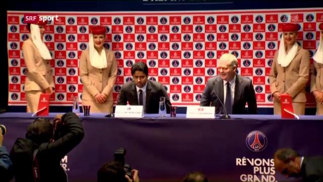 Fussball: Paris Saint-Germain («sportlounge»)
