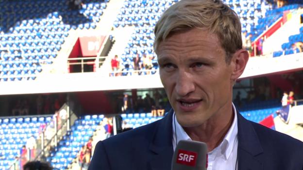 Video «Fussball: Super League, Sami Hyypiä im Interview» abspielen