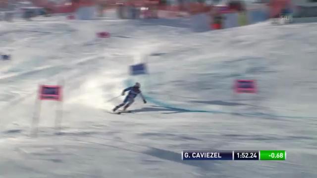 Ski: 2. Lauf Gino Caviezel («sportlive»)