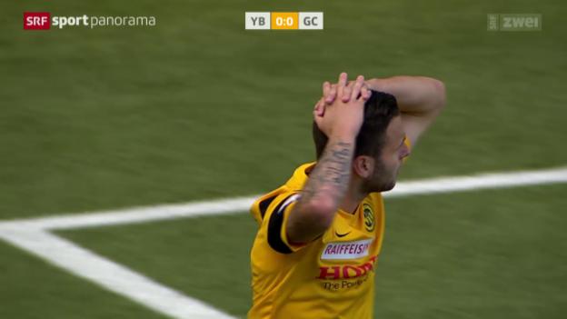 Video «Fussball: Super League, YB - GC» abspielen