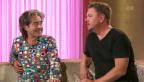 Video «Im Studio: Musiker Padi Bernhard und Komiker Baldrian» abspielen