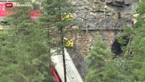 Video «Schwerverletzter nach Bahnunfall bei Tiefencastel gestorben» abspielen
