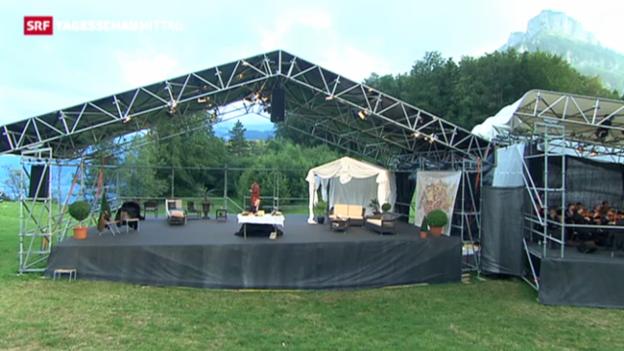Video «Richard Wagner meets Willhelm Tell in Seelisberg» abspielen