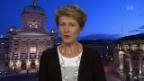 Video «FOKUS: Schaltung zu Bundesrätin Simonetta Sommaruga» abspielen