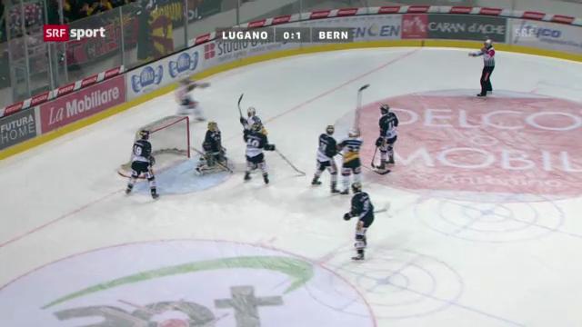 Eishockey: Lugano - Bern («sportaktuell»)