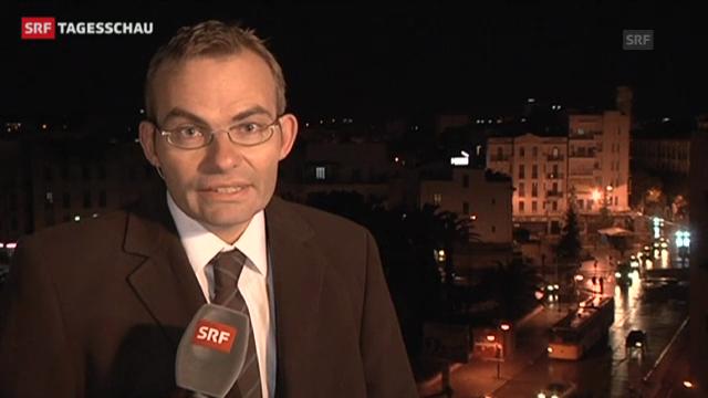 Aufruhr in Tunesien