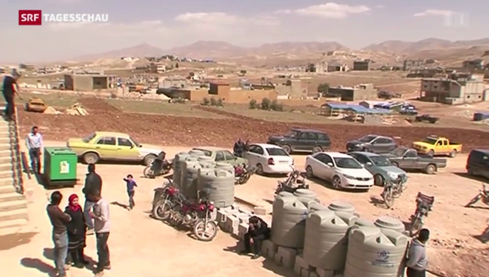 Über eine Million Syrische Flüchtlinge im Libanon
