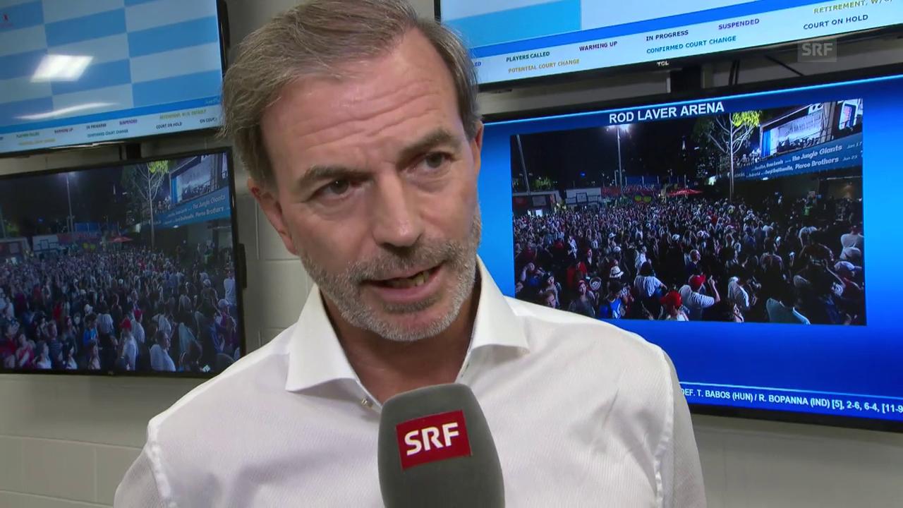 Heinz Günthardt über Roger Federer