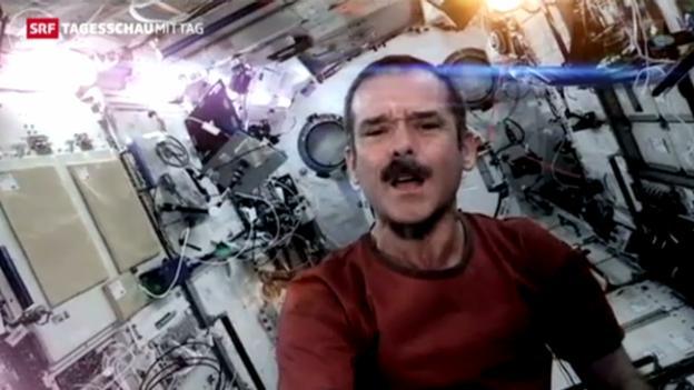 Video «Ein Song aus dem Weltall» abspielen