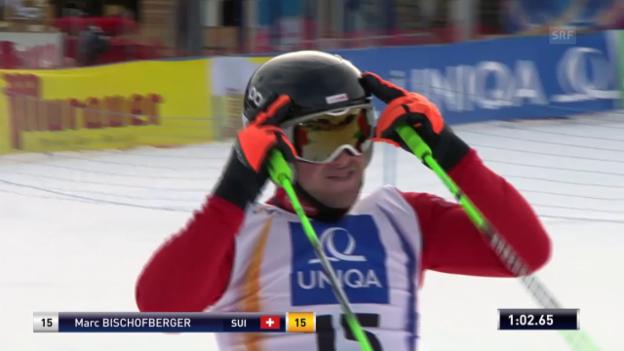 Video «Skicross. WM, Qualifikation Bischofberger» abspielen
