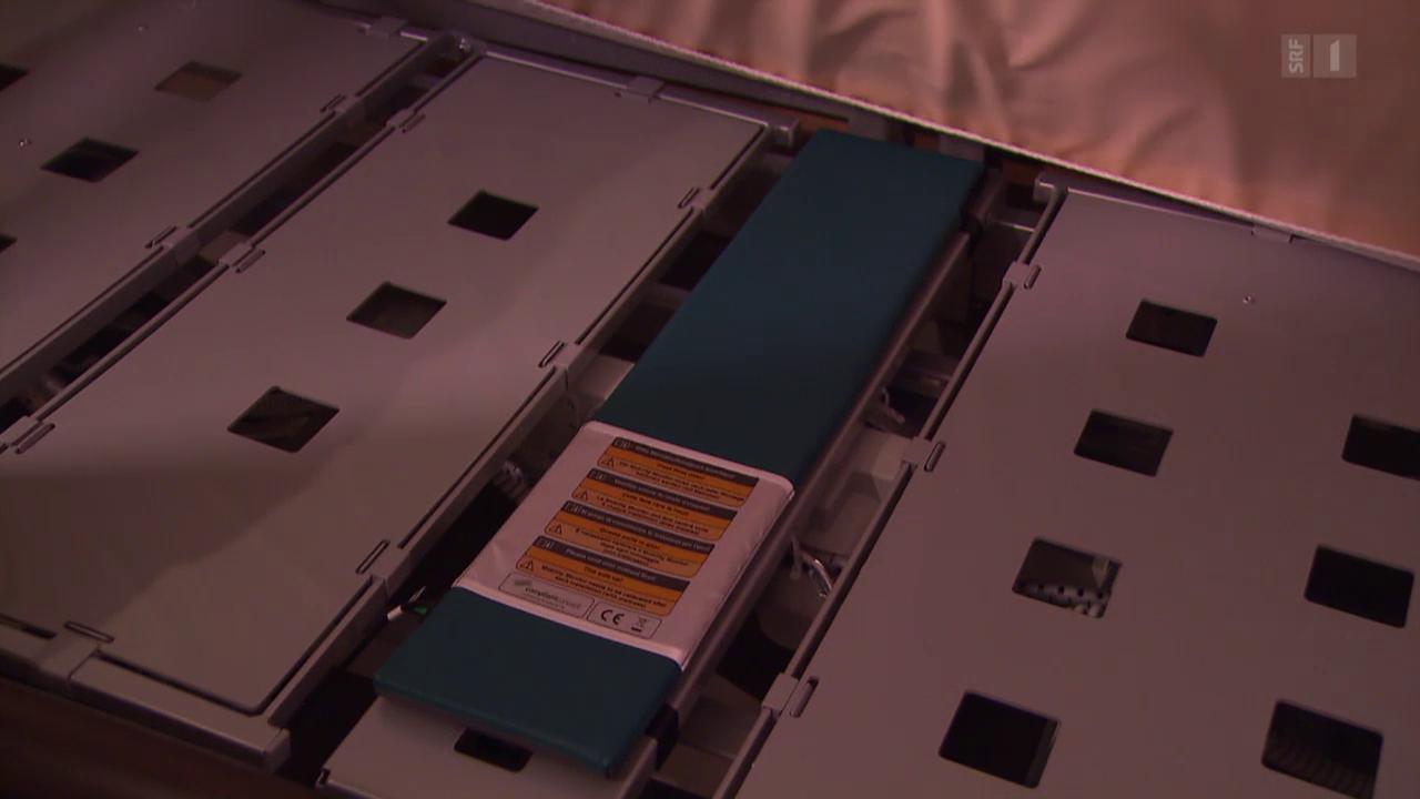Mit Sensoren gegen Druckgeschwüre