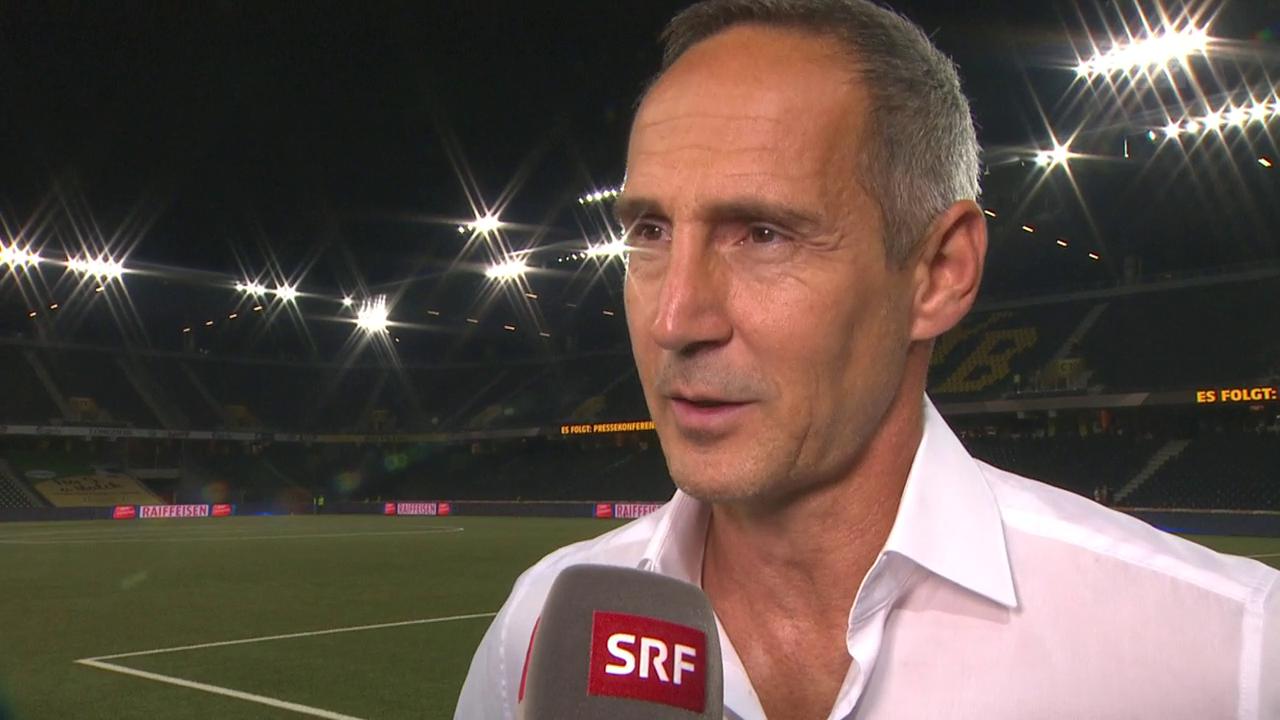 Hütter: «So ein Team auszuschalten ist nicht selbstverständlich»