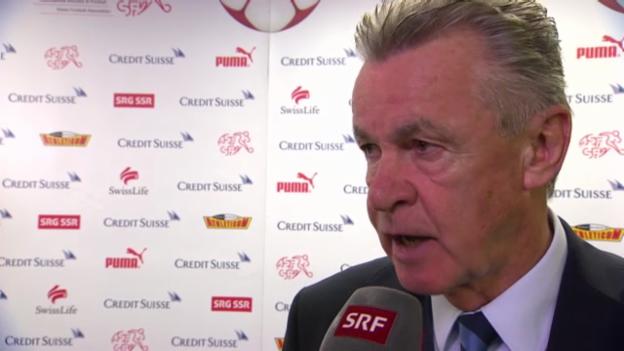 Video «Fussball: Interview mit Ottmar Hitzfeld» abspielen