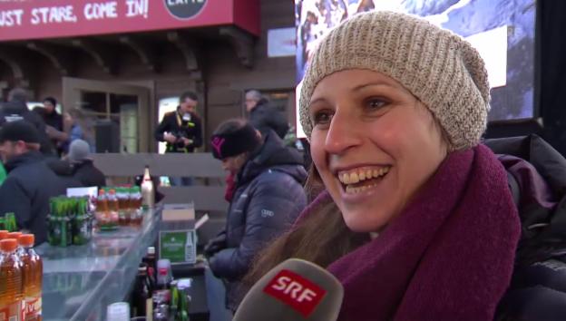 Video «Marianne Abderhalden macht ihre Schwangerschaft öffentlich» abspielen