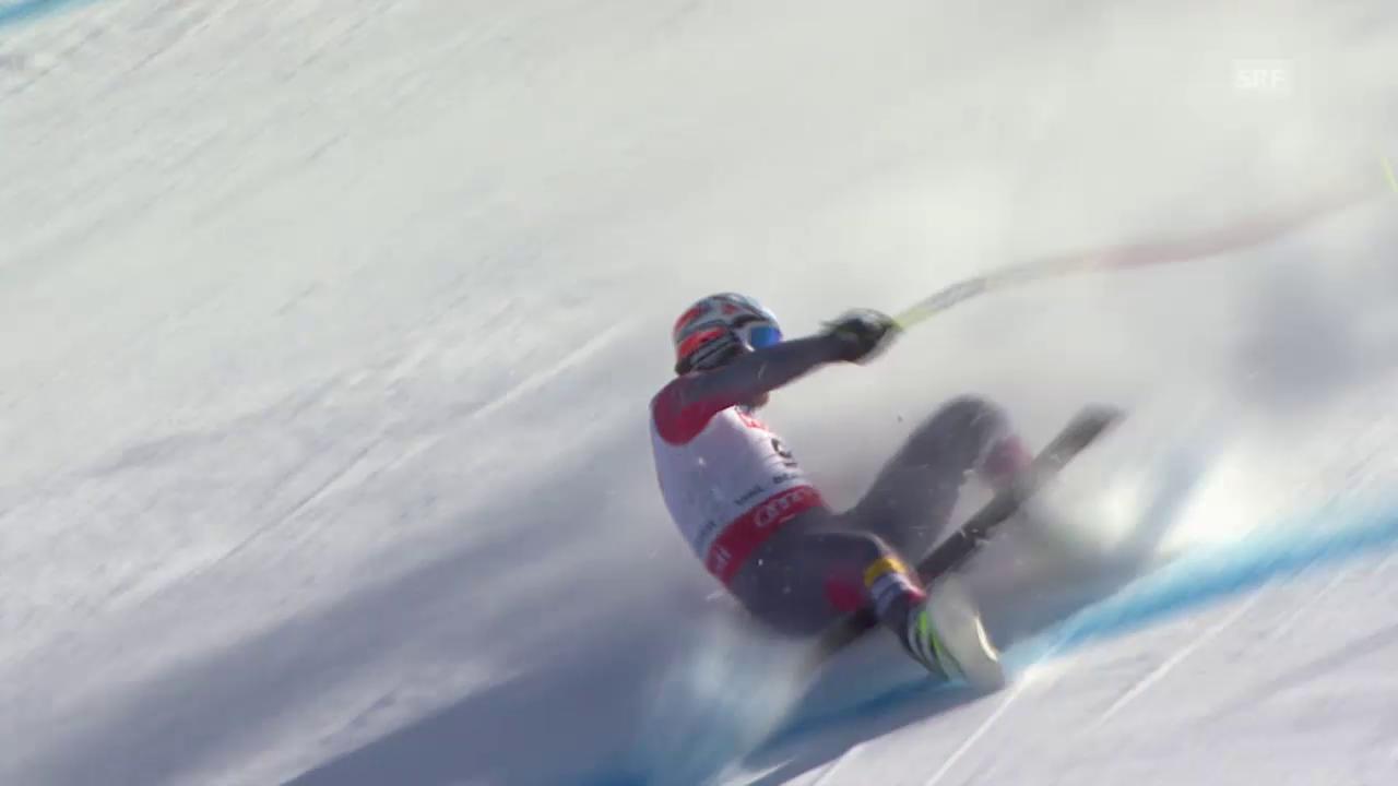 Ski: WM 2015 Vail/Beaver Creek, Super-G Männer, Fahrt von Bode Miller