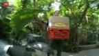 Video «Exotische Kröten für Berner Sicherheitsdirektor» abspielen
