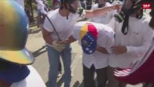 Link öffnet eine Lightbox. Video Erneut heftige Zusammenstösse in Venezuela abspielen