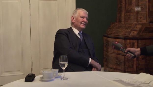 Video «Otto Schily über die ehemalige rot-grüne Regierung» abspielen