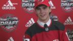 Video «Eishockey: Hischier begehrtester Junior der Welt» abspielen