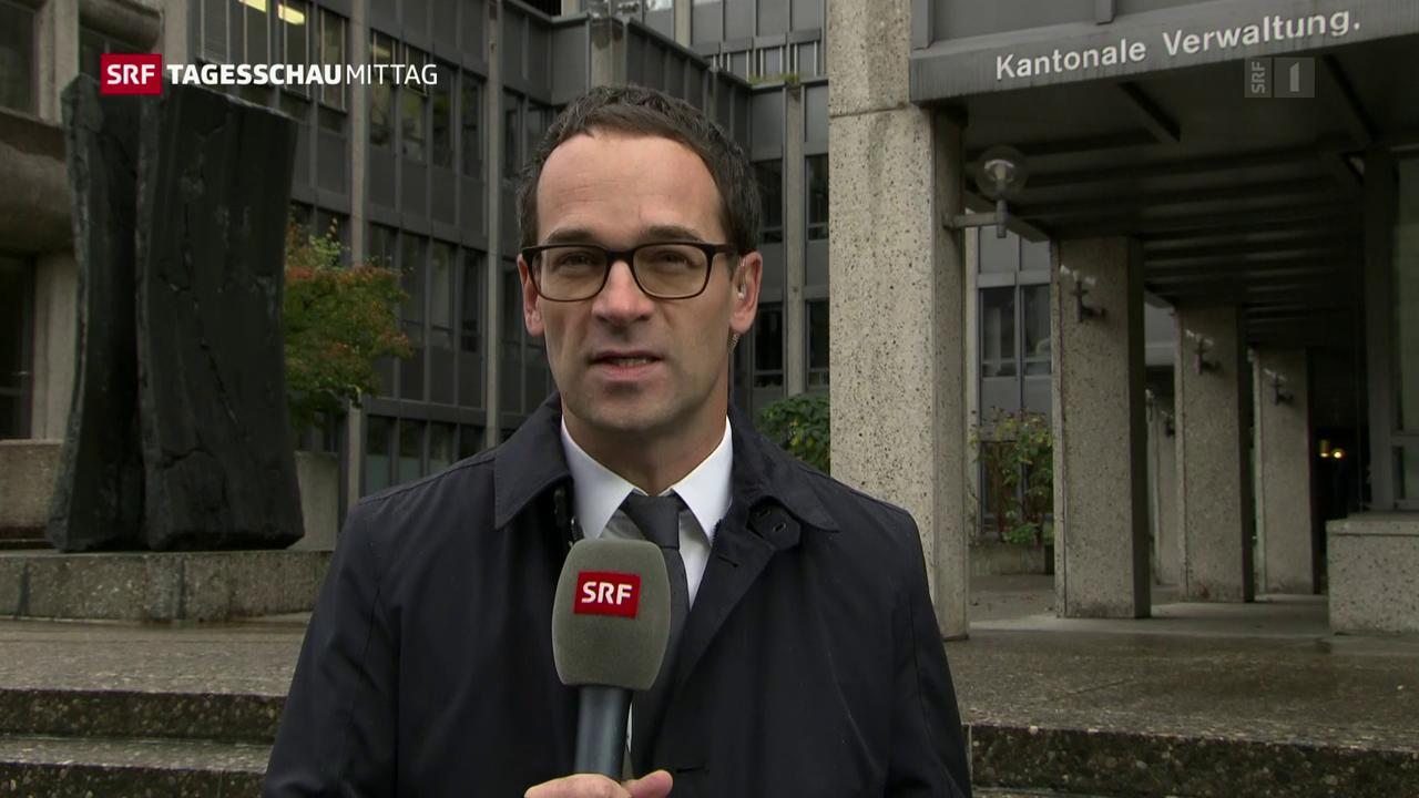 Marcel Niedermann in Flums (SG)