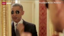 Link öffnet eine Lightbox. Video Obama: Seitenhieb auf Trump? abspielen