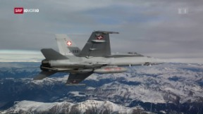 Video «Schweizer Luftwaffe am Anschlag» abspielen