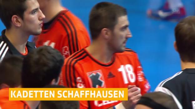 Video «Handball: Champions League, News zu Kadetten-Saporoschje» abspielen
