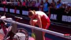 Video «Triathlon: Half-Ironman-WM in Zell am See» abspielen