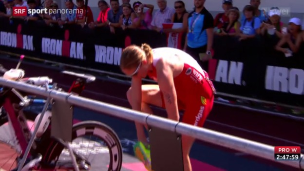 Video «Triathlon: Half-Ironman-WM in Zell am See» abspielen