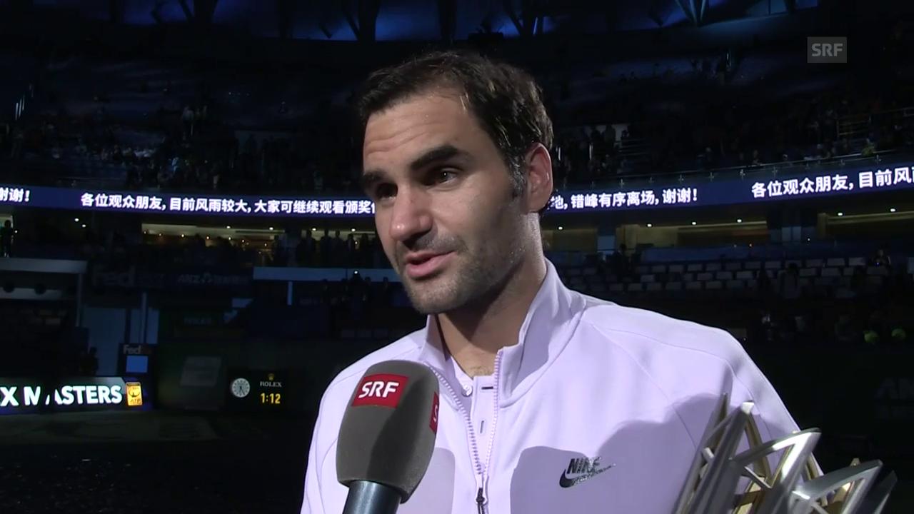 Federer: «Ich habe mich extrem wohlgefühlt»