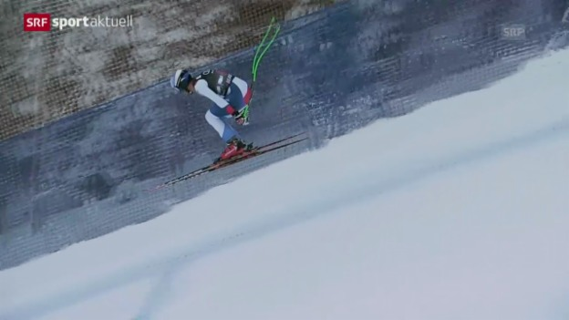 Video «Ski: Abfahrt Männer Beaver Creek» abspielen