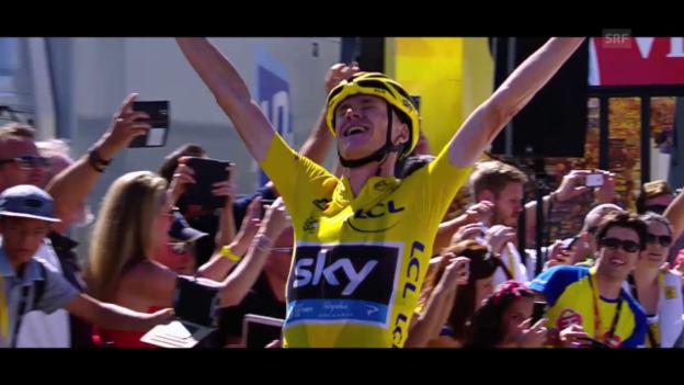 Video «Rad: Highlights der Tour de France 2015» abspielen