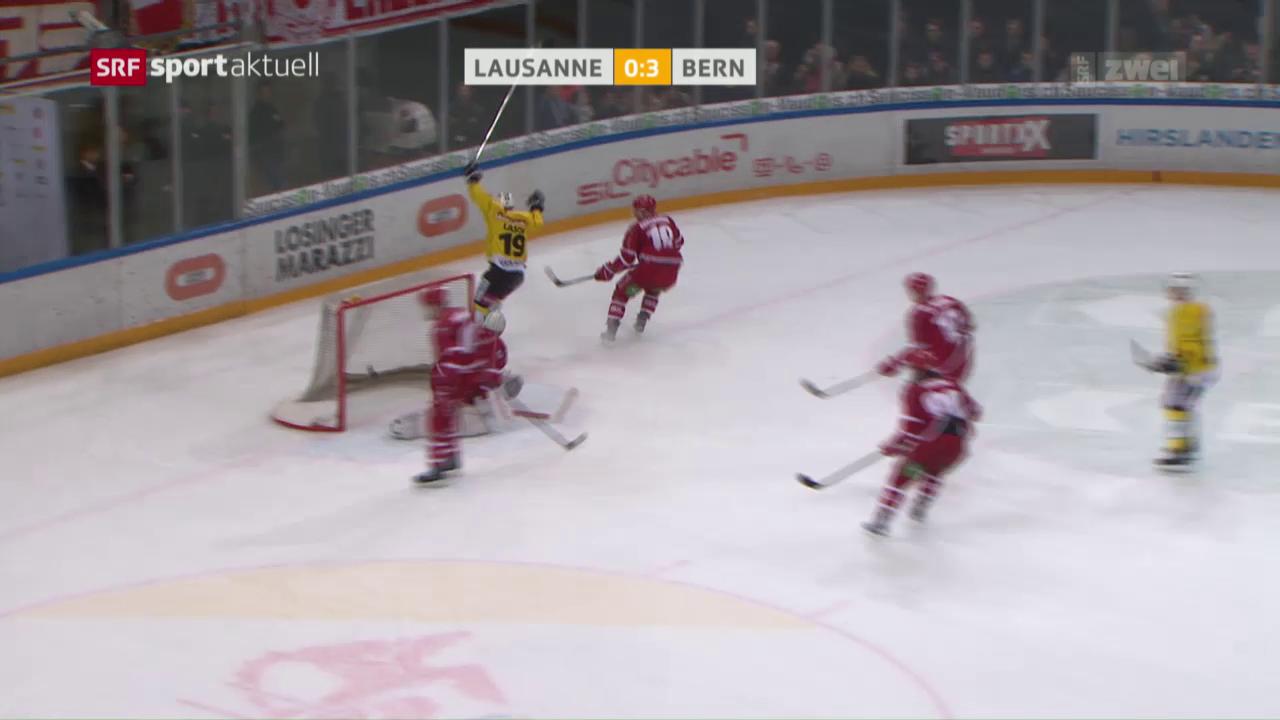 Bern gewinnt in Lausanne