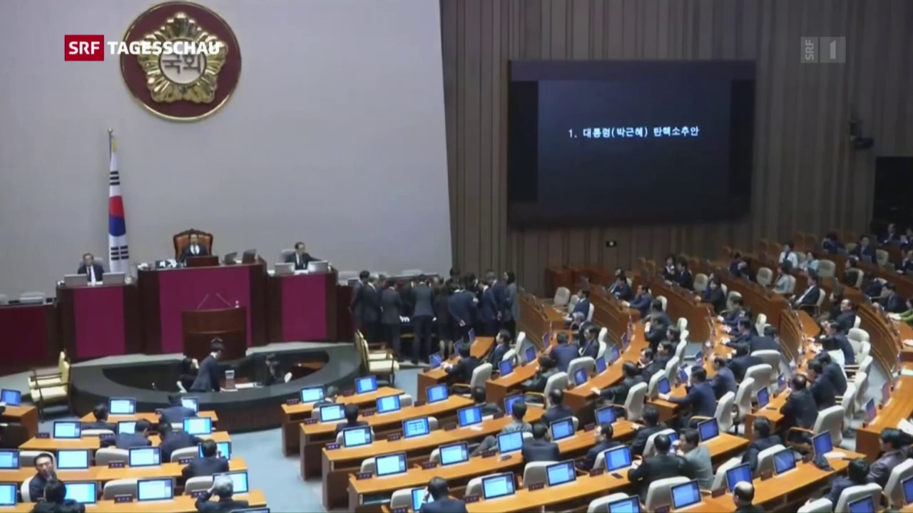 Südkoreas Präsidentin wird des Amtes enthoben