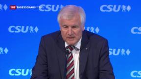 Video «CSU plant klareren Kurs» abspielen