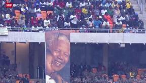 Video «Mandela gefeiert, 19 Milliarden Franken, «Kalter Krieg» im Norden» abspielen
