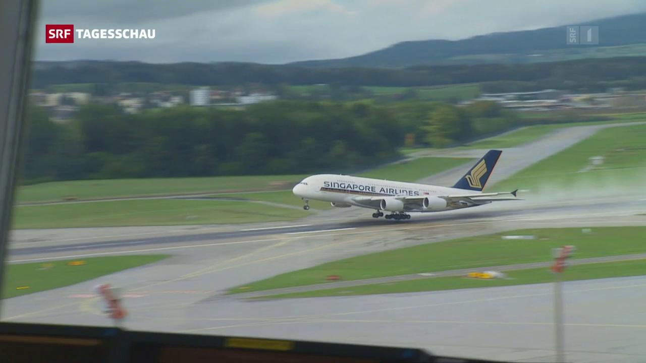 Flüge ab Zürich dürfen Richtung Süden starten