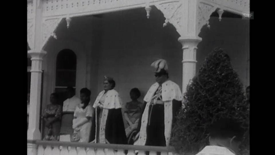 Die Krönung des Königs anno 1967 (ohne Ton)