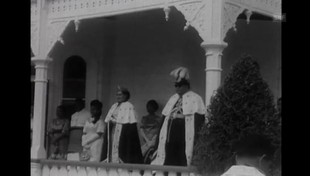 Video «Die Krönung des Königs anno 1967 (ohne Ton)» abspielen