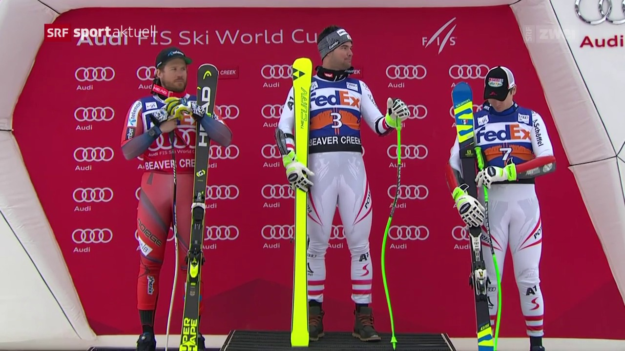 Kriechmayer-Premiere beim Super-G in Beaver Creek