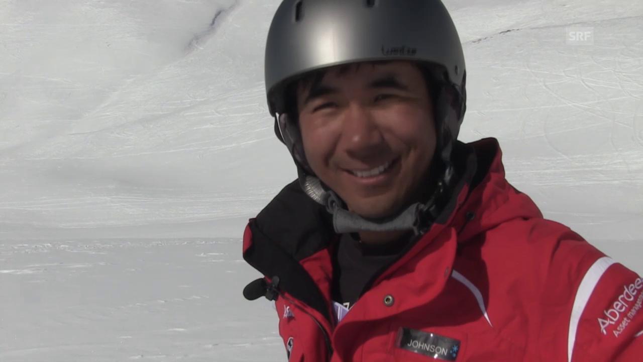 Ein Besuch bei Xu Zhongxing in Grindelwald