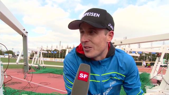 LA: Interview mit Viktor Röthlin nach dem Lake-Biwa-Marathon