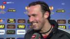 Video «FCB-Maccabi: Interview Marco Streller» abspielen
